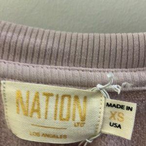Nation LTD Tops - Nation Ltd maybe LS top, sz xs, 69176